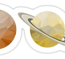 Planets of the Solar System Sticker