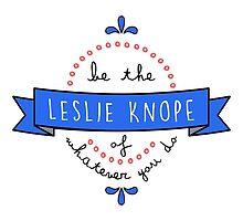 Leslie Knope  by onceuponadesign