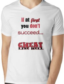If at first you don't succeed... T-Shirt Mens V-Neck T-Shirt