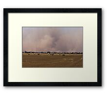 Pinery fire Framed Print