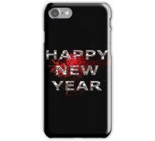 Happy New Year With Fireworks iPhone Case/Skin