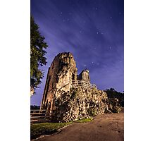 Knaresborough Castle Ruins overlooking the River Nidd Photographic Print