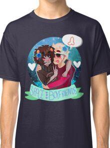 Space Boyfriends Sticker Classic T-Shirt