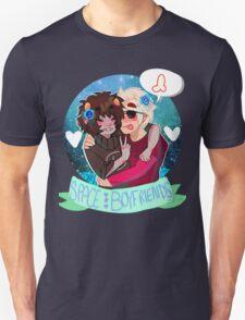 Space Boyfriends Sticker T-Shirt