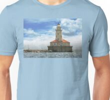 City - Chicago IL - Chicago harbor lighthouse Unisex T-Shirt