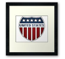 United States Shield Framed Print