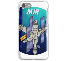 MIR Space Station iPhone Case/Skin