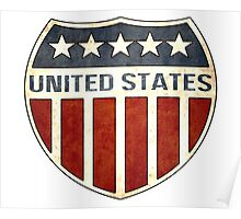 United States Shield Poster