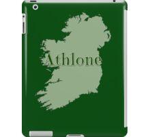 Athlone Ireland with Map of Ireland iPad Case/Skin