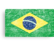 flag of brazil Canvas Print