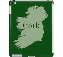 Cork Ireland with Map of Ireland iPad Case/Skin