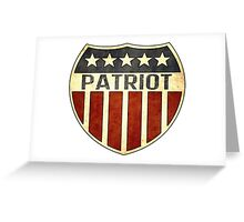 Patriot Shield Greeting Card