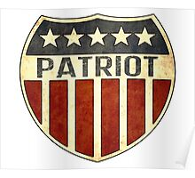 Patriot Shield Poster
