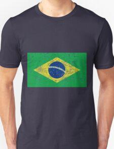 flag of brazil Unisex T-Shirt