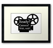 Movie Film Director Buff Framed Print
