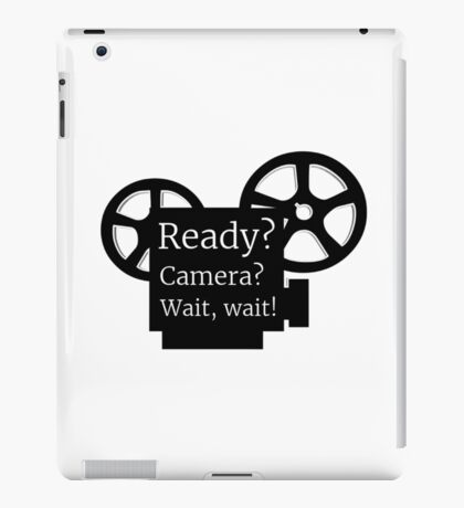 Movie Film Director Buff iPad Case/Skin