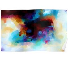 Abstract Nature Landscape Tropical Poster