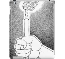 Pen and light iPad Case/Skin