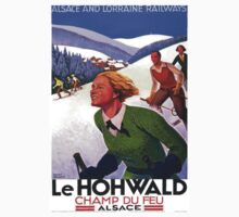Vintage poster - Le Hohwald One Piece - Short Sleeve