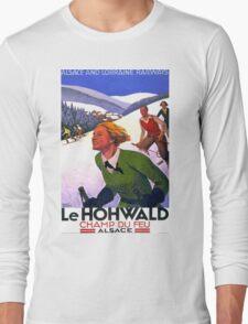 Vintage poster - Le Hohwald Long Sleeve T-Shirt