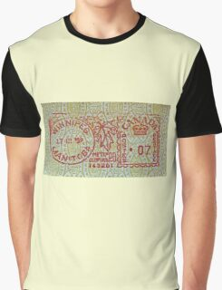 """""""Winnipeg Manitoba"""" Graphic T-Shirt"""