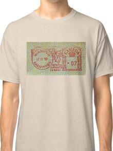 """Winnipeg Manitoba"" Classic T-Shirt"
