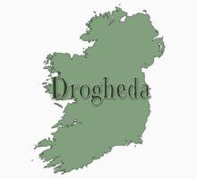 Drogheda Ireland with Map of Ireland Baby Tee