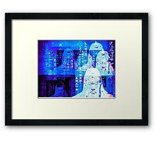 Asian King Hologram Framed Print