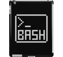 Bash Shell Pixel Drawing for Command Line Hackers iPad Case/Skin