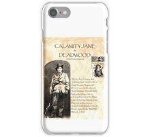 Calamity Jane of Deadwood iPhone Case/Skin