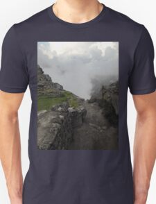 dirty path in the andes Unisex T-Shirt