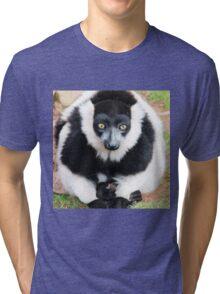 Wide Eyed Meditation Tri-blend T-Shirt