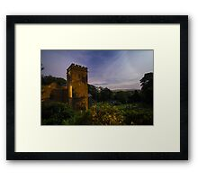 Midnight at St Mary's Church, Newchurch in Pendle Framed Print