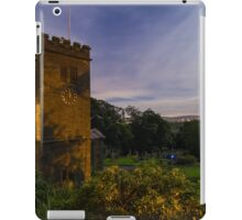 Midnight at St Mary's Church, Newchurch in Pendle iPad Case/Skin