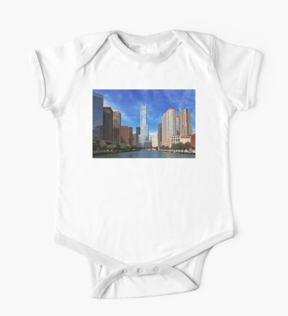 City - Chicago IL - Trump Tower  One Piece - Short Sleeve