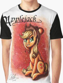MLP: Applejack (Character Portrait Series)  Graphic T-Shirt