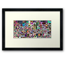 Catalea Bianco Collage Framed Print