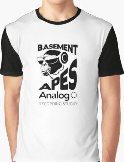 Analog - Basement Apes Recording Studio Graphic T-Shirt