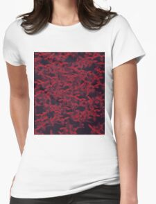 Red Parrot Womens Fitted T-Shirt
