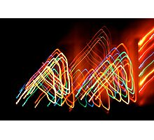 Suburb Christmas Light Series - 80s Funk Photographic Print