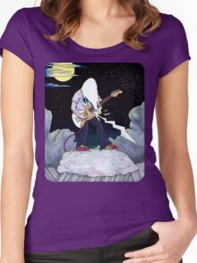 """""""J Zues"""" Women's Fitted Scoop T-Shirt"""