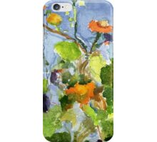 Flowers & Sky iPhone Case/Skin
