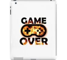 Game Over Flames iPad Case/Skin