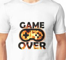 Game Over Flames Unisex T-Shirt