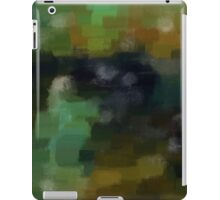 Abstract Nature Landscape Green iPad Case/Skin