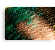 Suburb Christmas Light Series - Xmas Emerald Canvas Print