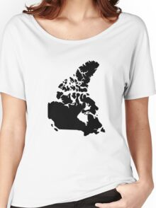 Map of Canada Women's Relaxed Fit T-Shirt