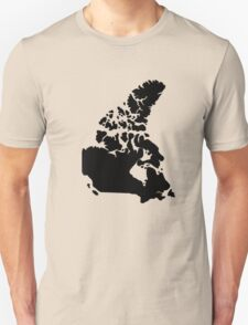 Map of Canada T-Shirt