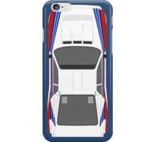 Rally 037 Top View iPhone Case/Skin