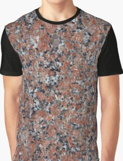GRANITE RED-BLACK Graphic T-Shirt